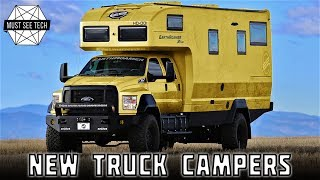 10 New Truck Campers that Offer Spacious Interiors and Practical Overlanding Gear