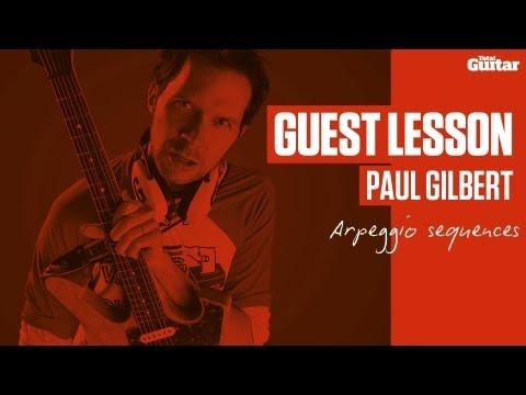 Paul Gilbert Guest Lesson - Arpeggio sequences (TG236)