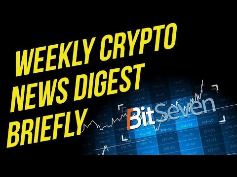 Crypto news digest weekly  (2019)