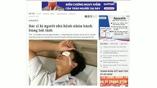 Tin Tức 24h Mới Nhất Hôm Nay :  Liên tiếp xảy ra các vụ hành hung nhân viên y tế