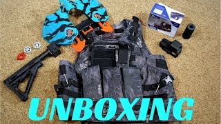 [Unboxing] Awesome Tactical Gear and more!