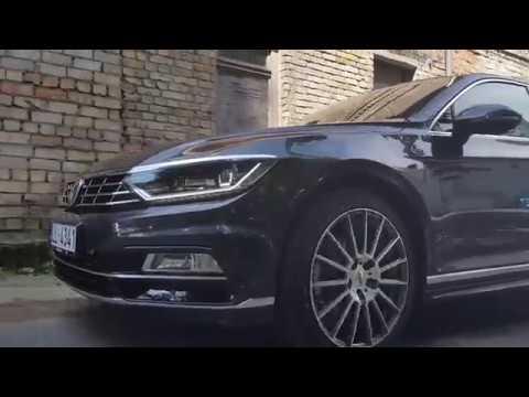 AEZ Steam  wheel Video on Passat B8 Rline