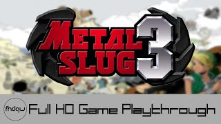Metal Slug 3 - Full Game Playthrough (No Commentary)