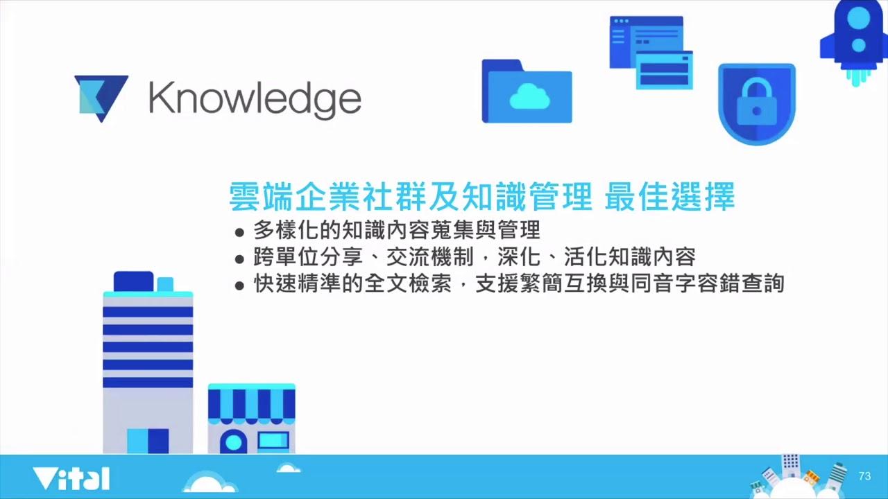 Vital Knowledge 雲端協同知識管理系統 - 產品介紹