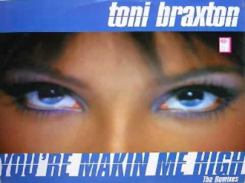 Toni Braxton  You're Makin' me high  (David Morales Classic Club Mix)