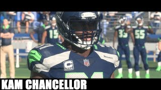 Kam Chancellor Through the years - NCAA Football 08 - Madden 18