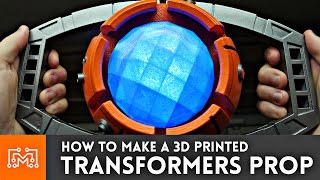 3d Printing a Transformers Prop (Matrix of Leadership) // How-To