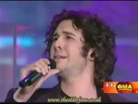JOSH GROBAN - THE CHRISTMAS SONG [GMA 30.11.07] - YouTube