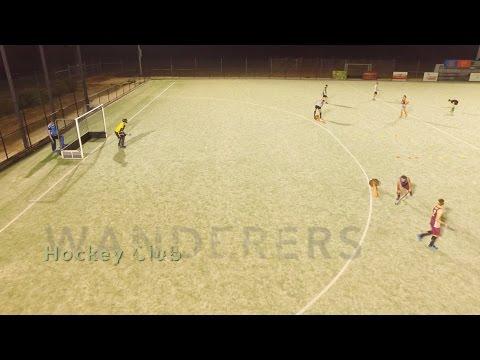 Mildura Wanderers Hockey Club. A Grade Men's Practice.