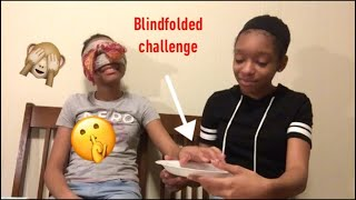 Blindfolded challenge turns into a prank| goldentwinz ✨