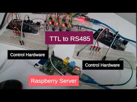 Basic Modbus Training Lab : Raspberry PI, Arduino, HTML5