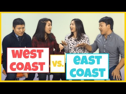 East Coast Asians VS. West Coast Asians