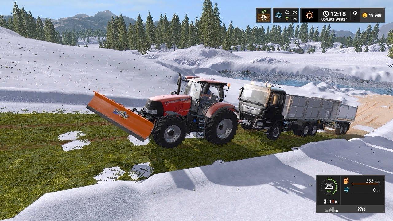 Download Removing snow | Goldcrest Valley | Farming Simulator 2017 | Episode 3