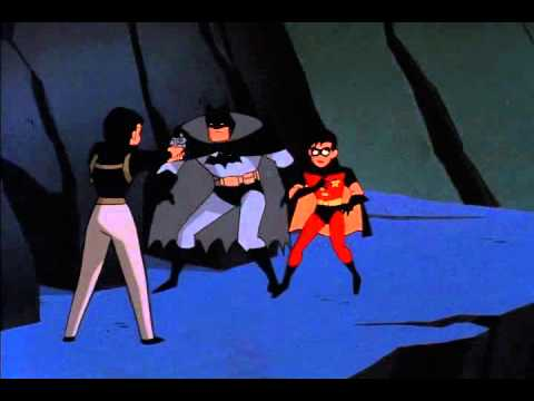 Batman,robin, and Nightwing vs. Gordon and Gothams cops