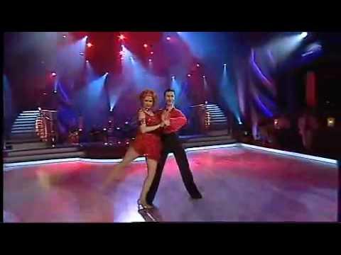 Zuzana Norisová and  Jan Kliment  samba