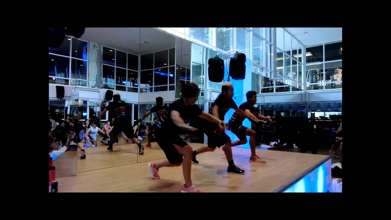 Celebrity Fitness Mid Valley Body Combat 64 Micro Launch ...