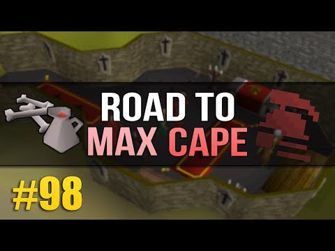 OSRS HC Ironman #98 (Road to Max) - Only Two 99s Left