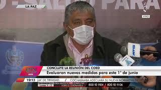 Ministro de Obras Publicas dice que Thanos el Virus se apropia de Bolivia y muestra muñequitos