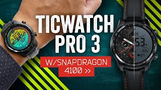 Ticwatch Pro 3 Review: Wear OS Finally Works!