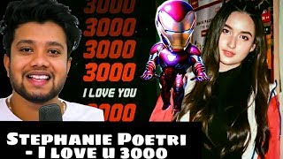 Download lagu Singer reacts to Stephanie Poetri - I love you 3000 & all her video's and falls in love