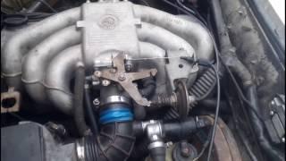 Как  должен работать ДМРВ (расходомер) BMW ( двиг М20) .