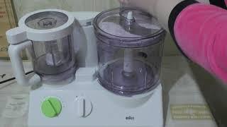 Тестирование кухонного комбайна Braun FX 3030 (1 часть)