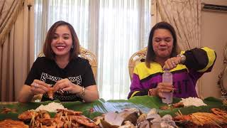 Getting to know Ms. Eve Dela Vega// Q&A//MUKBANG//Win 5,000 pesos (PART 1)