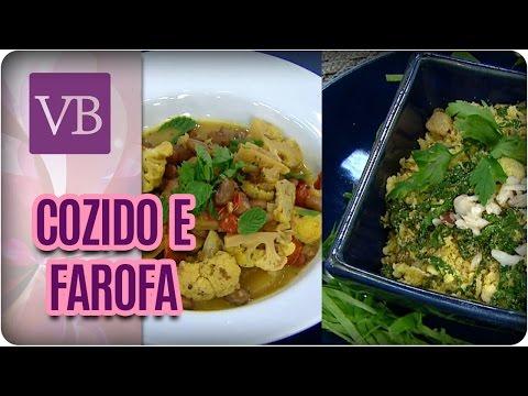 Cozido de Outono Funcional e Farofa de Couve  - Você Bonita (19/04/17)