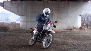 オフロードバイク物語  練習編5  DT50ブレーキターン
