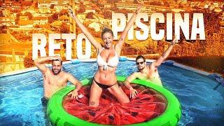 ¡¡¡RETO EN LA PISCINA!!! 🌊 Con Fati , Samu y Jacob