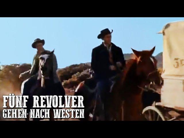 Fünf Revolver gehen nach Westen | Cowboy Film | Wilder Westen | Deutsch | Western Movie