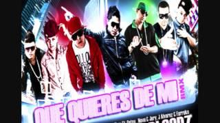 Que Quieres De Mi (Remix Prod. By Bloodz) - Ñengo Flow Ft. Gotay , Nova & Jory, J Alvarez & Farruko