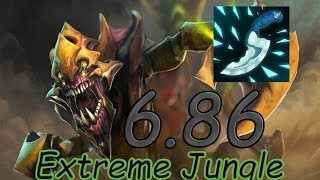 dota 2 6 86 jungle dire sand king fast blink dagger 7 17