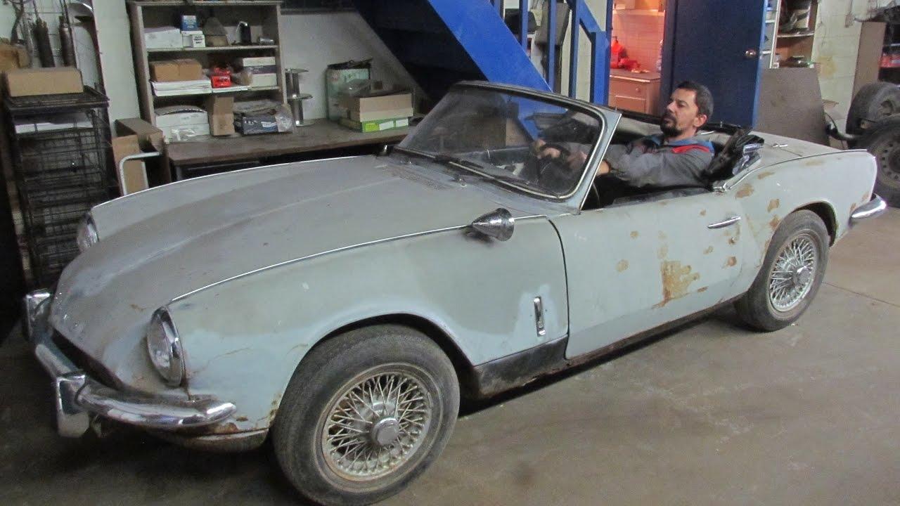 1968 Triumph Spitfire MK3 Restoration Project - part 2