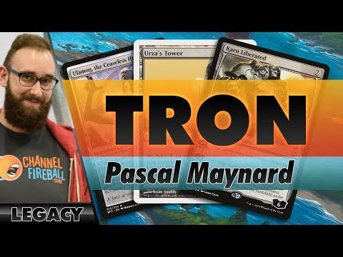 Mono-Green Tron - Modern | Channel Pascal