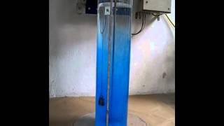 Перемешивание в вертикальной узкой емкости. Мешалка VISCO JET.