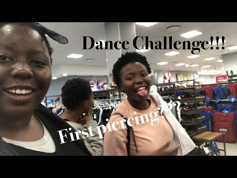 VLOG!! Piercings | Dance Competition?? | South African YouTuber