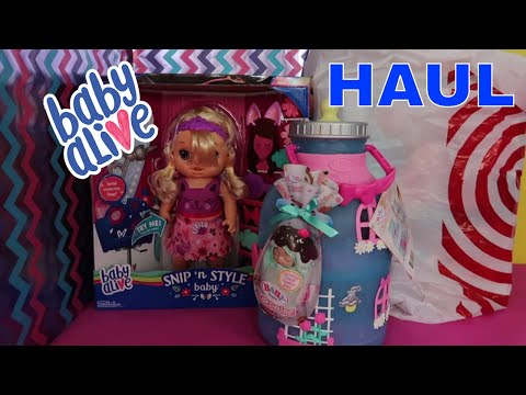 NEW Haul | Baby Alive and Dolls | Baby Alive Shark Unboxing!