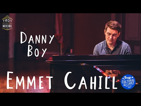 Danny Boy - Emmet Cahill Unplugged at the Troy Savings Bank Music Hall