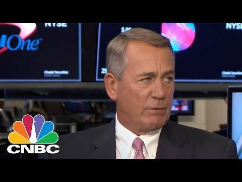 Former House Speaker John Boehner On Pot, Trade And President Donald Trump | CNBC
