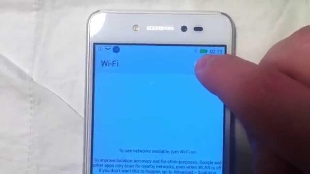 Lenovo S90 WiFi Problem