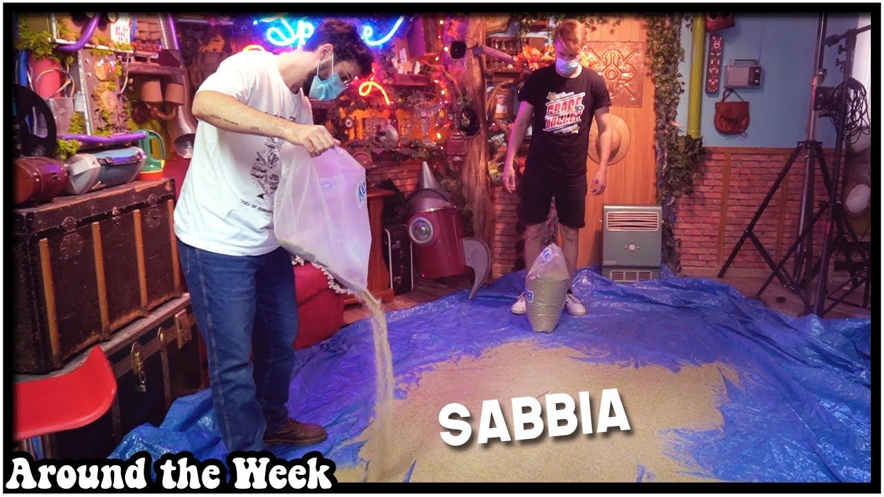 Riempiamo il set di SABBIA!