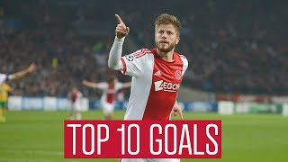 TOP 10 GOALS - Lasse Schöne | Fabulous Long Shots and Free Kicks!