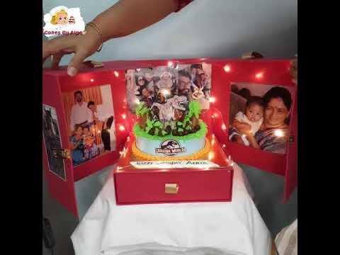 Surprise Box Cake