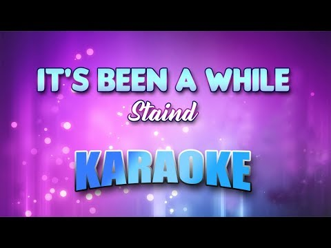 staind---it's-been-a-while-(karaoke-version-with-lyrics)