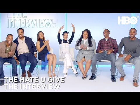 'The Hate U Give' Interview w/ Amandla Stenberg, Angie Thomas, Anthony Mackie & More | HBO Mp3