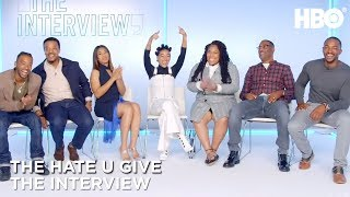 'The Hate U Give' Interview w/ Amandla Stenberg, Angie Thomas, Anthony Mackie & More | HBO