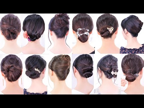 自分で作れる15の-簡単なヘアスタイル集。普段着、結婚式、パーティーでも使える。