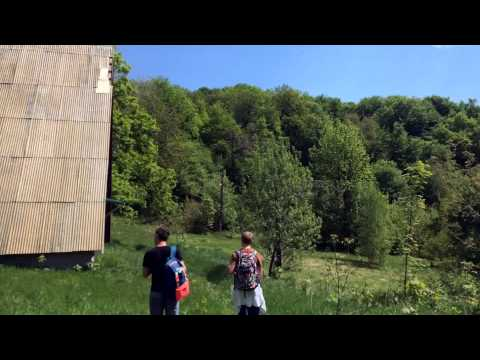 Mountain hiking in Ukraine -  г.Плішка (Plishka)