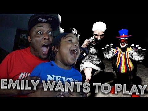 Im Going Have Nightmares After Playing This | Woo Wop Plays Emily Wants To Play . |